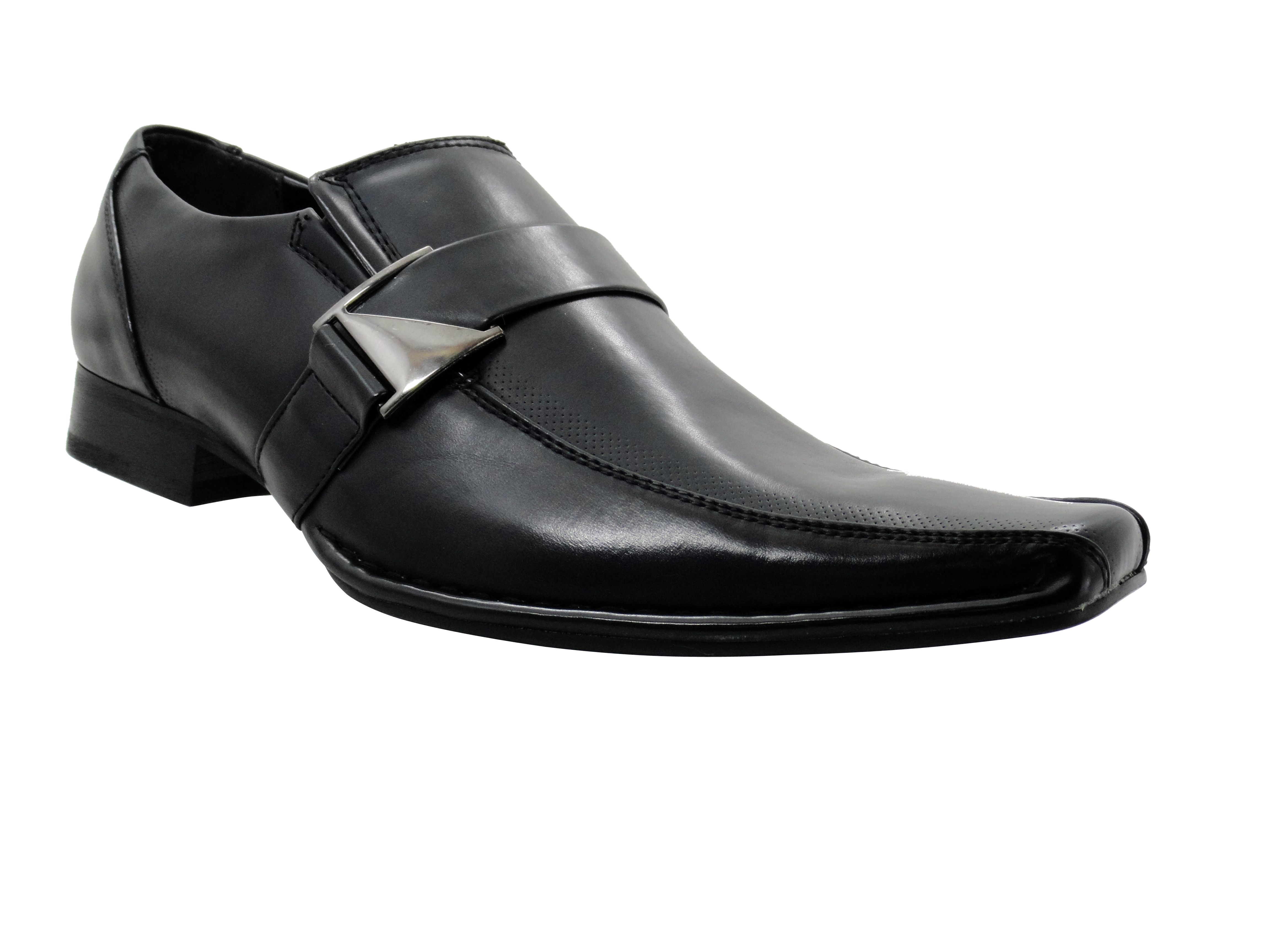 mens dress shoes parrazo slip on loafers black fashion