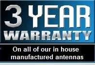 radio structures 3 year warranty