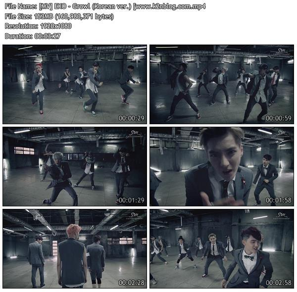 [MV] EXO - Growl (Korean ver.) [HD 1080p Youtube]