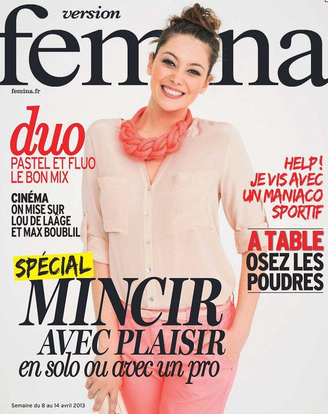 Version Femina du 08 au 14 Avril 2013