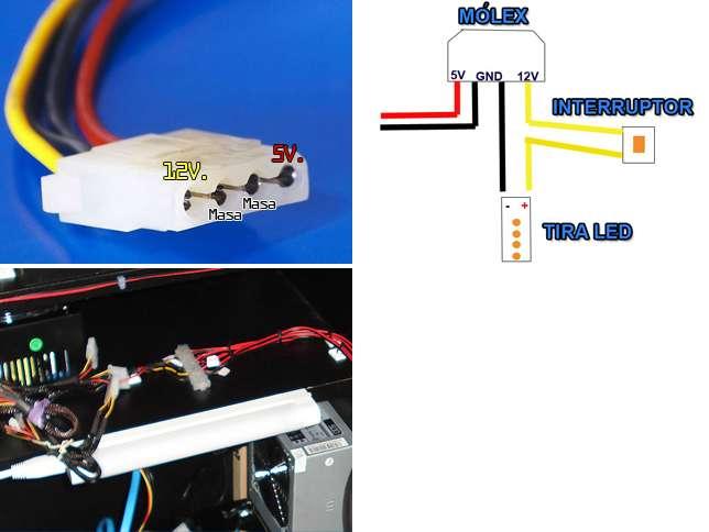 Minitutorial Cmo poner decoracin de iluminacin LED en nuestra