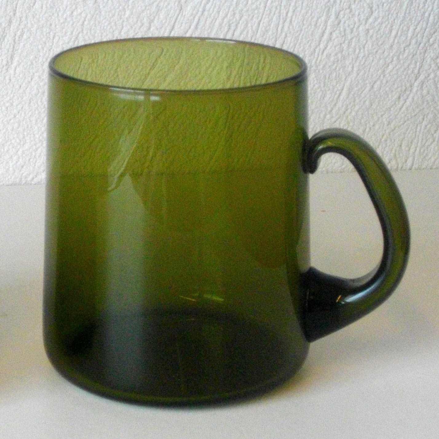 Vintage Glass Mug 18
